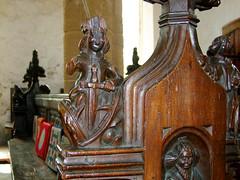 seven deadly sins: Wrath (15th Century) (Simon_K) Tags: wiggenhall st germain germans norfolk eastanglia church churches