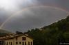 colors (nuri_bri) Tags: rainbow arcoiris arcdesantmartí pirineos ripolles catalunya españa spain es lluvia pluja rain