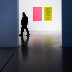 Le muse est une confrontation de mtamorphoses. A.Malraux (Ynot-Na) Tags: square carr 500x500 couleurs muse silhouette