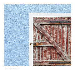 Colour & Texture (calderdalefoto) Tags: gardenstown moray coast detail door wood abstract scotland scottish aberdeenshire