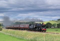 76084 @ Hellifield (TheRosyMole) Tags: 76084 hellifield steam yorkshire raiilway railroad