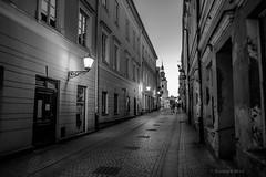Piotrkw Trybunalski (nightmareck) Tags: piotrkwtrybunalski dzkie polska poland europa europe zmierzch dusk twilight handheld bezstatywu bw blackandwhite czarnobiay fujifilm fuji xe1 apsc xtrans xmount mirrorless bezlusterkowiec xf18mm xf18mmf20r fujinon pancakelens