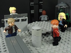 Arrow Cave (MrKjito) Tags: lego minifig super hero green arrow dc comic comics cave basen lair team cw oliver queen roy harper red black canary laurel lance