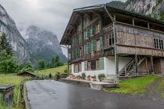 A swiss Chalet.... (Matts__Pics) Tags: swisschalet lauterbrunnen valley rain mountains