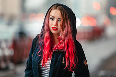 Zoe (Lumowelt) Tags: russia yaroslavl shinnik girl redhair redhead portrait abandoned beautiful autumn street     retrato