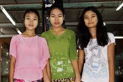 Burmese smile (diatoscope) Tags: d7000 nikon myanmar inlet girls shanstate portrait thanaka