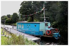 Craft Daft on a Raft. (Paris-Roubaix) Tags: forth clyde canal arts daft raft crafts boat kirkintilloch torrance bishopbriggs 803 east dunbartonshire