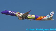 G-FBEM - Flybe - Embraer ERJ-195LR (ERJ-190-200 LR)  - PMI/LEPA (Juan Rodriguez - PMI/LEPA) Tags: nikon d90 sigma 70200mm 80400mm pmilepa aeropuerto airport sonsanjuan sonsantjoan palma mallorca avion plane planes airplane airplanes aircraft embraer erj195lr flybe gfbem aeroplano aeronave