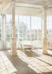 Blinded WW (BirgittaSjostedt- away for a while.) Tags: café coffee windows light old orangerie ancient inside indoor table chair sunray texture sweden windowwednesday birgittasjostedt netart artdigital