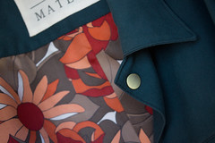 New Men's Jacket. Collar Detail. (OrderMateria) Tags: order materia ordermateria menswear mens mensfashion mensstyle fashion design detail fabric lining label brass