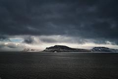 Arctic - Ellesmere Island - Hell Gate Channel (Vivienne Gucwa) Tags: arctic viviennegucwa travel travelphotography ellesmereisland canada arcticlandscape hellgate hellgatechannel hellgatearctic nunavut stormclouds arcticmountains