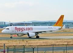 TC-DCM - Airbus A320-214(WL) - PEGASUS (Hoddle747) Tags: tccdm airbus a320 pc pegasus fra