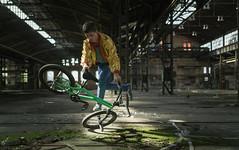 LP Sport (Nils Grudzielski) Tags: lostplaces abandonedplaces sport bmx indoor urbex urbanexploration urban fahrrad decay marode ruin rotten player