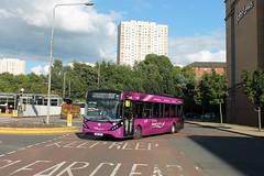 First Glasgow - SN16 OSC (67096) (MSE062) Tags: first glasgow enviro 200 e200 alexander dennis adl sn16osc sn16 osc airport express scotland low floor single decker bus