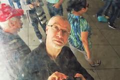 Photographer Reflection (sea turtle) Tags: chicago illinois millenniumpark park millennium sculpture anishkapoor cloudgate thebean stainlesssteel reflection reflections mirror mirrors city urban