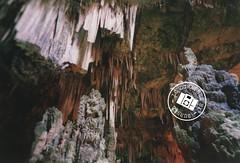 Trip in the middle of the earth - ancora pochi ed ultimi raggi di sole (BurnEdThomas) Tags: white grey lomo lca grigio earth stones deep caves pietre cave terra bianco stalactites stalagmites grotte grotta profondo stalagmiti stalatiti