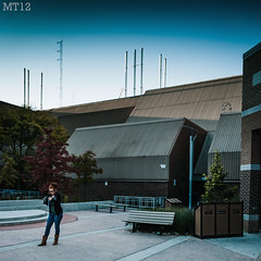 Shooting Assignments (Matthew Trevithick Photography) Tags: ontario canada london girl campus outside october brittany afternoon buidling 2010 fanshawecollege matthewtrevithick