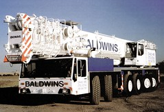 Baldwins Demag AC 755 (Bournemouth 71B / 70F) Tags: mobile big cabin lift drum crane head duty large cable boom cranes block chassis hook derrick root heavy load jib strut sections slew ballast lifting hoist telescopic capacity counterweight outriggers demag