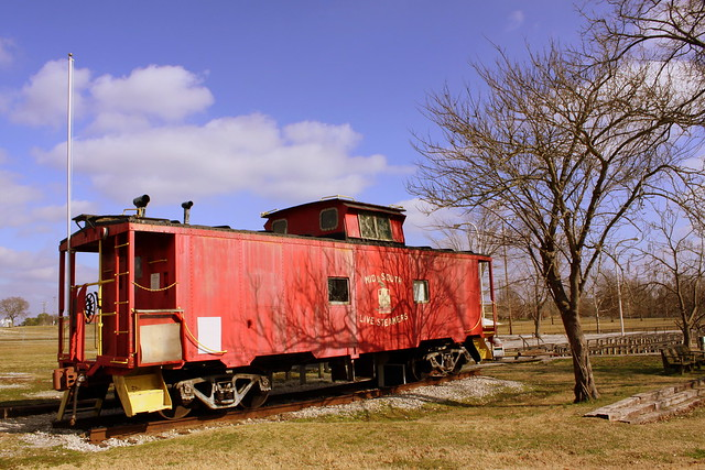 Mid-South Live Steamers Caboose