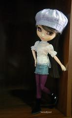 Modeling (memellymel) Tags: kimi toy doll purple boots wig groove beret coolcat obitsu eyechips junplanning leekeworld pullipyoutsuzu
