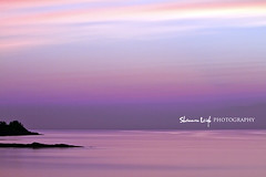 just after sunset (Shannon Leigh Photography) Tags: ocean longexposure pink sunset canon purple toneyriver cottageview canon7d bestcapturesaoi elitegalleryaoi shannonleighphotography