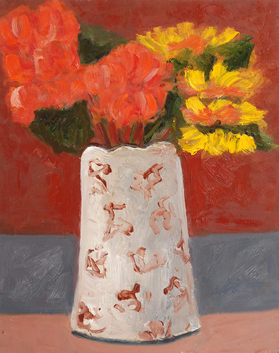 """Antique Pitcher - oil on board """"15 x 12"""" $500"""