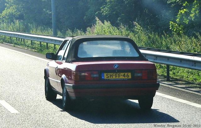 auto old netherlands car amsterdam germany deutschland automobile nederland convertible voiture german tc bmw 1991 cabrio allemagne paysbas 318 e30 deutsch ancienne cabriolet baur 318i bmw318i allemande baurtc sidecode5 shff46