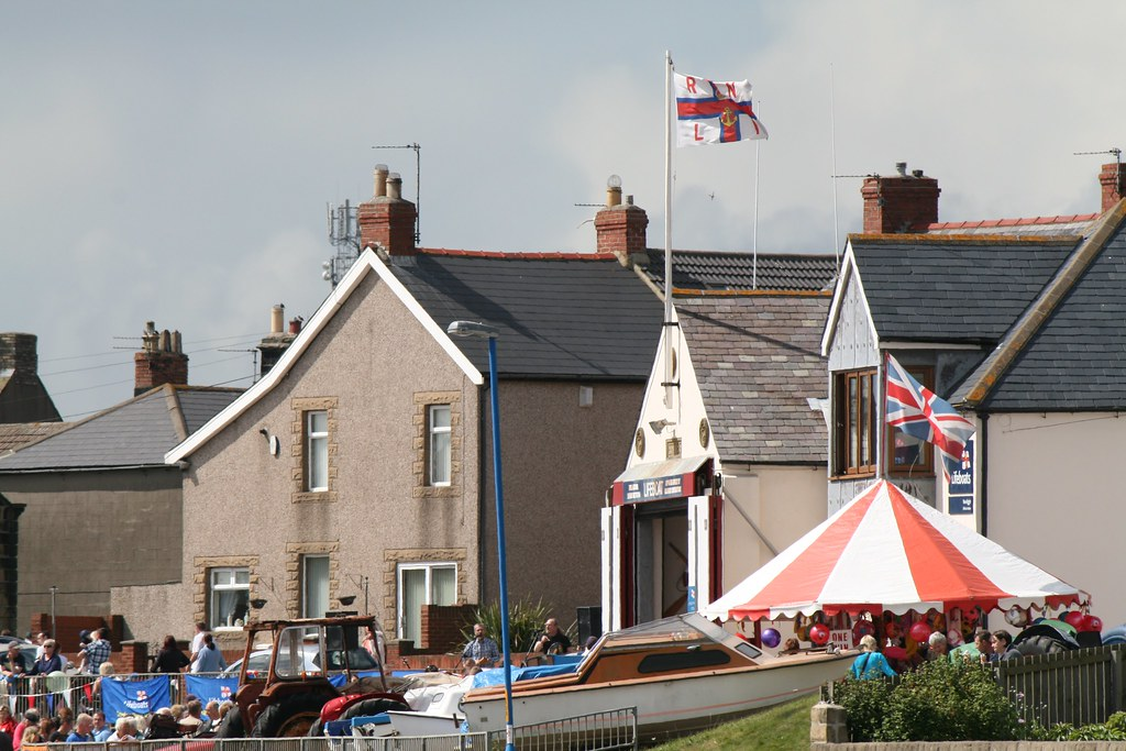 The RNLI lifeboat station- Newbiggin by the Sea RNLI day, Newbiggin, Northumberland