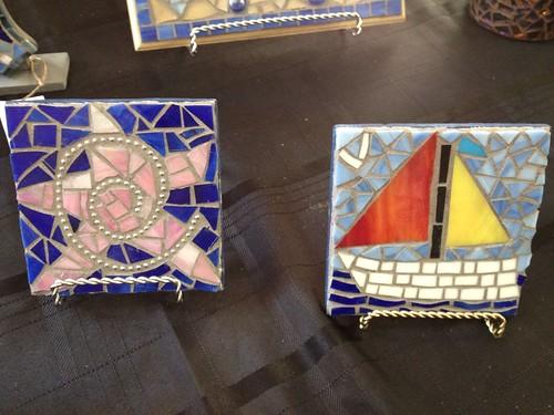 sailboat star mosaic