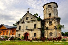 San Miguel Arcangel Parish @ Samboan (Rhannel Alaba) Tags: city church parish miguel lens photography nikon san south philippines cebu lanscape arcangel d90 pido alaba 18105mm samboan rhannel