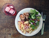 salt & vinegar potato salad (you can count on me) Tags: salad potato redonion saltandvinegar oldbay poppytalk