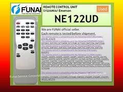 NE122_USED (marie-fsc) Tags: tv emerson control remote fsc sylvania funai durabrand temote funaiservice