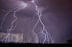 Storm Warning (Steven Maguire Photography) Tags: arizona storm night monsoon thunderstorm lightning sierravista