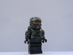 LEGO Halo 4 Master Chief (JPO97Studios) Tags: john paint citadel chief 4 halo master custom 79 117