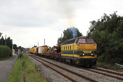 Infrabel 6291 @ Geel (Peter Van Gestel) Tags: geel nmbs ijzerenrijn lijn15 sncb kievermont infrabel reeks62 serie62 ligne15 hadschot