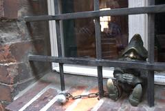 Midget behind bars