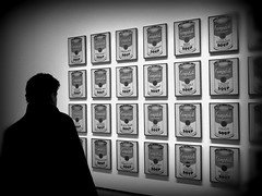 Soup! ~ Andy Warhol ~ MoMa ~ New York  ~ MjYj (MjYj) Tags: world street new york city gay light urban sculpture music man black paris celebrity art love film andy contrast magazine dark painting drag photography soup movement solitude noir pittsburgh factory hand artistic time pennsylvania drawing expression computergenerated culture amiga philosophy moma advertisement queens popart amour commercial hollywood printmaking warhol celebrities eden illustrator 1960s wealthy temps interview pioneer liberation bohemian sixties ville intellectuals homme controversial patrons playwrights encounters espoir soop renowned popism mjyj mjyj