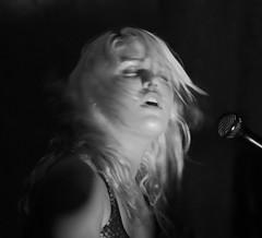 Hanna of Purple (Bill Jacomet) Tags: ladies music night texas hanna purple live houston warehouse venue 2012