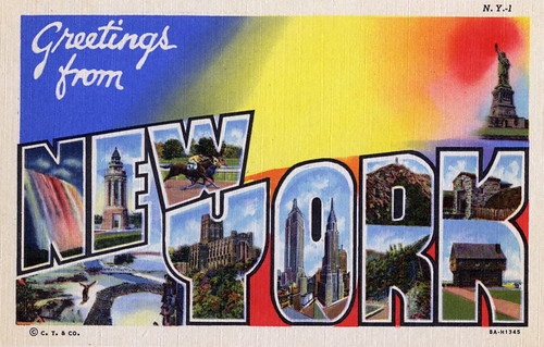 Greetings from new york large letter postcard a photo on flickriver greetings from new york large letter postcard m4hsunfo