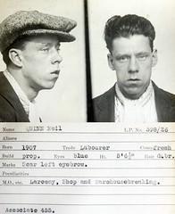 Neil Quinn (Tyne & Wear Archives & Museums) Tags: portrait blackwhite cops character id criminal crime illegal quinn mugshot theft scar lawandorder dodgy felon crook petty robbers larceny tynewear conviction britishpolice unsavoury crimeandinvestigation