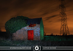Litte House (xyzphotography) Tags: england night dark photography unitedkingdom britain leicester sl lonely losted slowshutterspeed noctural