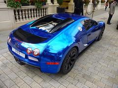 Centenaire (BenGPhotos) Tags: blue black london car photo unique wrap exotic chrome 164 bugatti rare supercar spotting w16 veyron 555 hypercar centrnaire