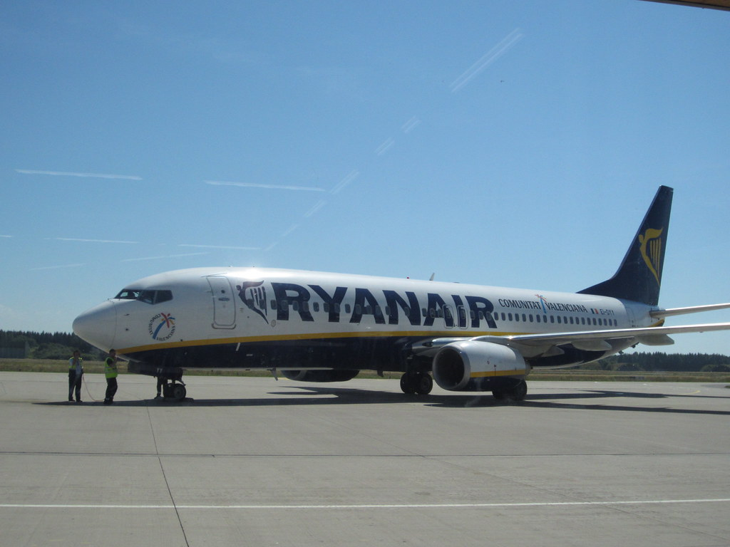 Ryanair at Memmingen Airport by Danny McL, on Flickr