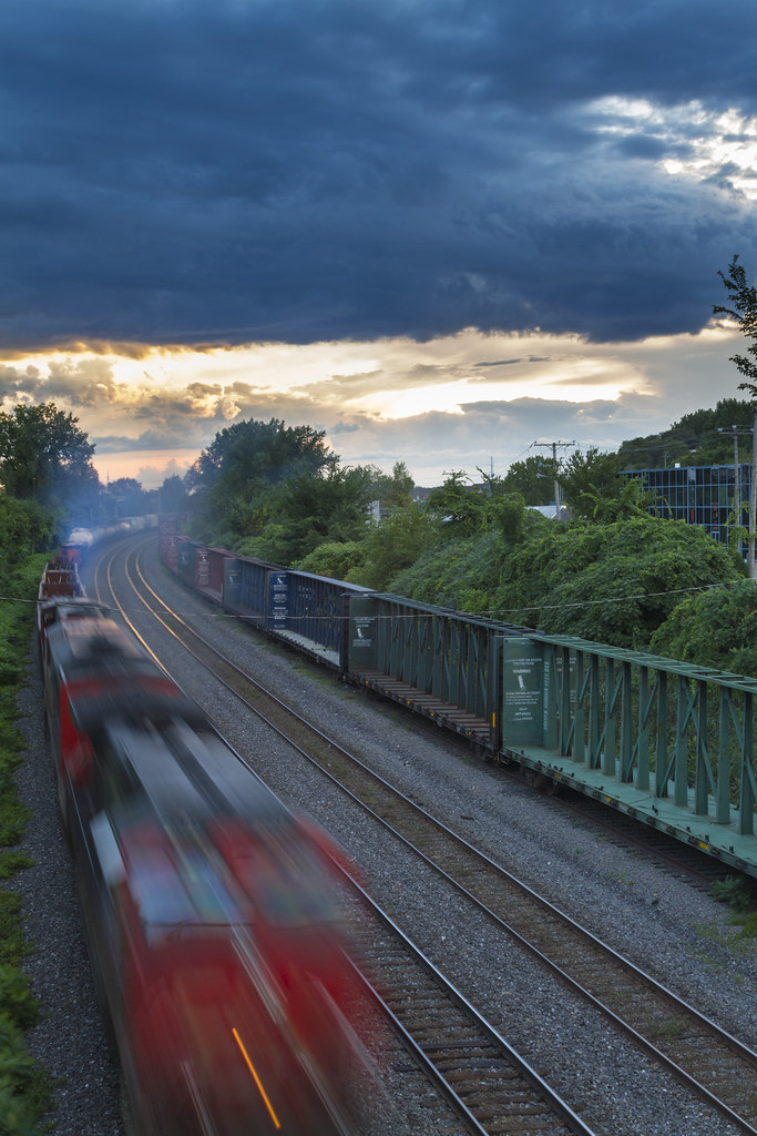 Train Tudor A Parau Tags Road Sunset Canon Evening Scenery Crossing