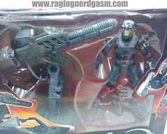 Halo Reach Figure with Weapon Gauss Cannon with Spartan Operator09 (Raging Nerdgasm) Tags: with halo weapon figure reach raging rng nerdgasm