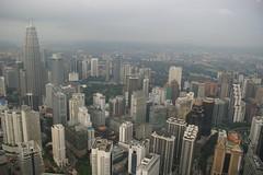 CBD from Menara Tower (Ju1ian) Tags: sony malaysia kualalumpur kl 2012 malaise a350 alpha350