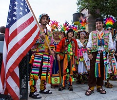 Bolivians arrive to lite WaterFire