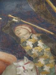 Immagine 347 (Andrea Carloni (Rimini)) Tags: urbino sangiovanni 15thcentury 1400 15thc salimbeni xvsecolo xvsec goticointernazionale oratoriodisangiovanni surcotta fratellisalimbeni surcotto