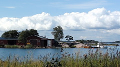Boathouse on Lauttasaari (PhotoNinja.Chunin) Tags: sea nature suomi finland helsinki europe lauttasaari