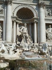 Fontaine de Trvise (flaviotte) Tags: sun rome roma water fountain de soleil eau italia august fontaine italie aout 2012 trevise